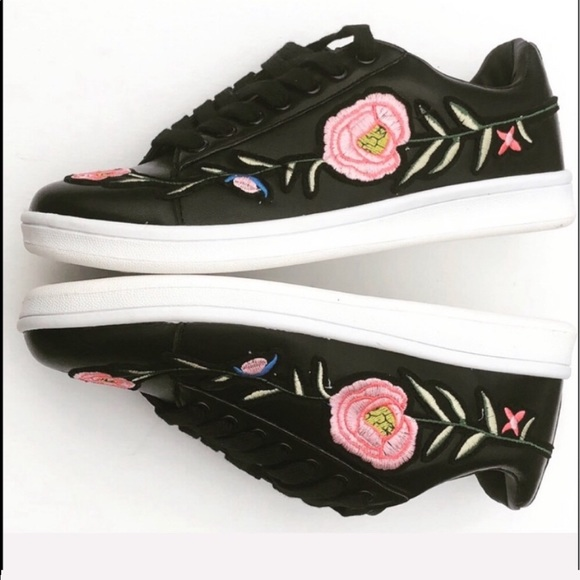 Evolving Always Shoes - Beautiful Embroidered Sneakers